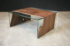 The 50 Most Beautiful Coffee Tables Ever via Brit + Co.%11,195 BlackWalnut Drips over the side of the Glass