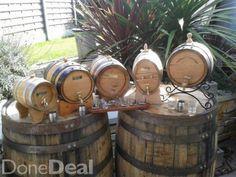 distillate &ornamental barrels & casks from kilbeggan cooperage on facebook.
