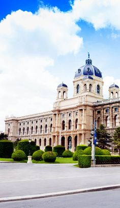 Famous Natural History Museum in Vienna, Austria