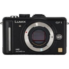 Panasonic Lumix DMC-GF1 12.1MP Micro Four-Thirds Interchangeable Lens Digital Camera Body Only (Lens not included) by Panasonic. $999.00