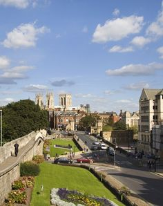 York - England I loved spending time here!
