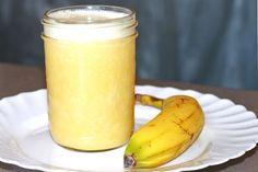 Banana Smoothie    Ingredients        1 Banana      1 Cup ice      1 Cup orange juice    Instructions        Put ingredients in a blender jar and blend. Enjoy!