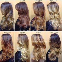 2016 Ombre Saç Kataloğu