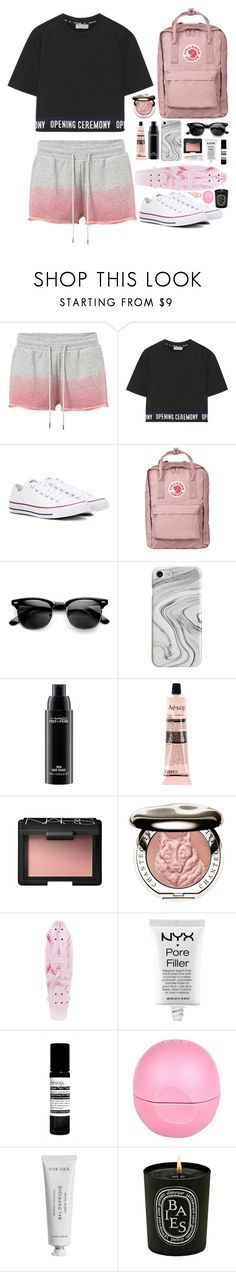 """""""Untitled #325"""" by emmeleialouca on Polyvore featuring MANGO, Opening Ceremony, Converse, Fjällräven, Recover, MAC Cosmetics, Aesop, NARS Cosmetics, Chantecaille and NYX"""