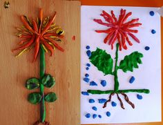 Flower Activities For Kids, Autumn Activities, Infant Activities, Flowers For You, Fall Flowers, Apple Life Cycle, Life Cycle Craft, Spring Crafts For Kids, Kids Crafts