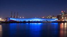 The Cloud : architecture semi-permanente en composite Serge Ferrari pour la Coupe du Monde de rugby 2011