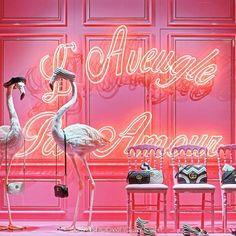 @galerieslafayette , Paris 2016 by @dailyshopwindow. L'univers de @gucci est présenté dans les 14 vitrines du magasin. #dailyshopwindow #visualmerchandisingtrends #windowoftheday #windowdisplay #window #vitrine #set #decor #fashion #paris #galerieslafayette #gucci
