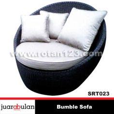 Bumbel Sofa Rotan Sintetis SRT023