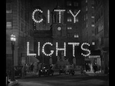 City Lights (1931) movie title