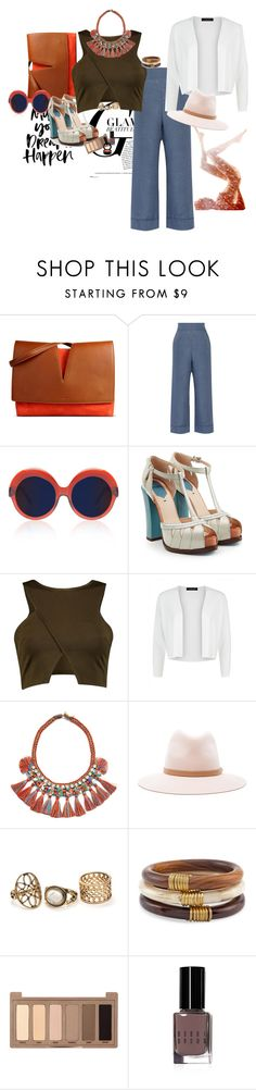 """""""Brownie-glam-Spring"""" by claire86-c on Polyvore featuring moda, Jil Sander, La Perla, Cutler and Gross, Fendi, Jaeger, Tory Burch, rag & bone, Chico's e Urban Decay"""