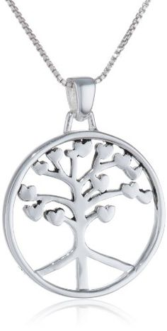"Sterling Silver ""Roots Of Peace Run Deep"" Tree Pendant Necklace, 18"" Amazon Curated Collection,http://www.amazon.com/dp/B002BH51A4/ref=cm_sw_r_pi_dp_0tztsb0H1DFH6BGR"