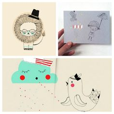 Birthday Card Design Cards Print Artist Playing German Bday