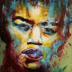 Jimi Hendrix exclusively available at the first floor store at Alexandria  #art #artist #artwork #abstract #painting #portrait #paletteknife #acrylicpainting #acrylic #paletteknifepainting #jimihendrix #rock #rockmusic