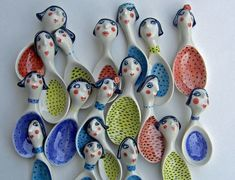 ceramic pottery ideas click the image or link for more info. Ceramic Spoons, Ceramic Clay, Ceramic Pottery, Pottery Gifts, Handmade Pottery, Pottery Ideas, Cerámica Ideas, Hand Built Pottery, Pottery Classes