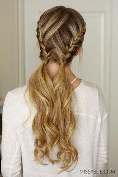 3 Easy & Pretty Gym Hairstyles