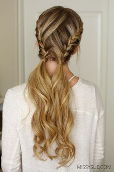 3 Easy & Pretty Gym Hairstyles
