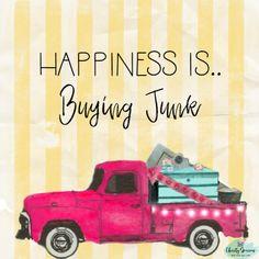 C'mon get happy.. #junk #junkin #vintage