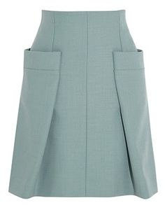 Chloé Woven A-Line Skirt