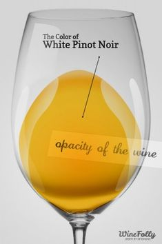 White Pinot Noir profile.... also known as vin gris or blanc de noir | Wine Folly