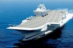 Sea-power: Aircraft carrier INS Vikramaditya is undergoing extensive sea trials. It will be handed over to the Indian Navy in November by Ru...