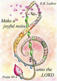 The Bible says to make a joyful noise unto the LORD. it never says it has to be in tune. What matters isn't the quality of your voice, but rather what. Make a Joyful Noise Scripture Verses, Bible Scriptures, Bible Quotes, Encouragement Scripture, Uplifting Scripture, Scripture Doodle, Inspirational Verses, Meaningful Quotes, Qoutes