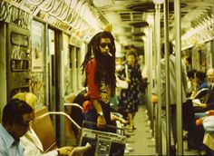 Diversity, NYC in the 1980s...