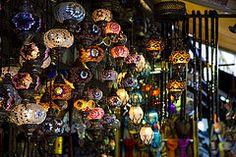 lanterns (krishchaos) Tags: travel canon turkey colours istanbul lanterns shops 5d bazaar merchants moroccan grandbazaar markiii 24105mm vision:dark=0584 Turkey Colors, World Best Photos, Moroccan, Istanbul, Canon, Lanterns, Shops, Christmas Tree, Colours