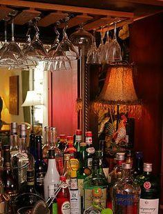 Au revoir, TV armoire ... Repurpose, Reuse, Recycle, Renew  ... Liquor Cabinet and Bar.