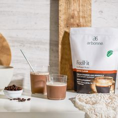 Are you ready to add the taste of coffee back into your days in a healthier way? The NEW FeelFit Protein Shake, Coffee Flavor has finally arrived as a limited-edition Black Friday Special offer! This frothy, delicious mocha-flavored shake is packed with protein and 35 mg of caffeine naturally derived from coffee to keep you feeling good and going strong throughout the day. Get yours before its gone! Limited Time Only, While Supplies Last Healthy Life, Healthy Living, Arbonne Nutrition, Protein Shakes, Vitamins And Minerals, Mocha, Feel Good, Caffeine, Tableware