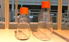 Botella RETAP de 0,3L y 0,5L con tapón Naranja