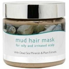 Jericho Mud Hair Mask for Oily & Irritated Scalp PHYTO Phytopolleine, Botanical Scalp Stimulant Lucia Iraci Cleansing Masque Rene Furterer Curbicia Purifying Clay Mask Frizzy Hair, Hair A, Oily Hair Remedies, Purifying Mask, African Hairstyles, Hair Loss, Hair Hacks, Skin Care Tips, Beauty Hacks