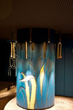 Lighting by PSLAB for India Mahdavi Architecture and Design on Le Germain Paradisio, Paris.