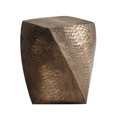 "Erin Sullivan, ""Bronze Serpent"" Side Table / Stool, USA, 2015 