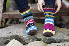 eilen tein: MARISUKAT Woolen Socks, Marimekko, Winter Accessories, Knitting Socks, Leg Warmers, Knit Crochet, Villa, Slippers, Fashion Outfits