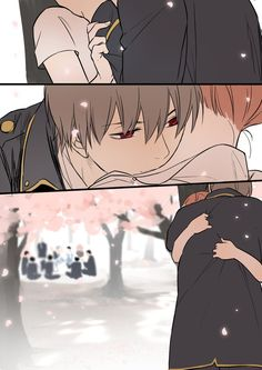 Sougo Okita x Kagura [OkiKagu], Gintama Manga Anime, Anime Couples Manga, Cute Anime Couples, Manga Couple, Anime Love Couple, Anime Comics, Kawaii, Manga Romance, Okikagu Doujinshi