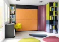 1000 images about literas abatibles on pinterest madrid - Dormitorios con literas juveniles ...