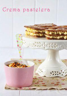 Crema pastelera 'auténtica' de Xavier Barriga