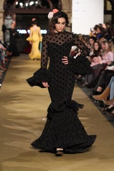 Traje de Flamenca - Carmen-Acedo - We-Love-Flamenco-2017 Dresses With Sleeves, Love, Long Sleeve, Fashion, Flamenco Dresses, Victorian Dresses, Long Sleeve Dresses, Ruffles, Moda