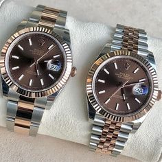 Rolex Datejust II with Chocolate face