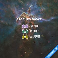 Calming Night - Essential Oil Diffuser Blend