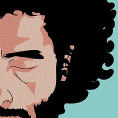 Jose Gonzalez @josegonzalezforeal Commissioned work for the 50th @montreuxjazzfestival  Stay tuned for 19 other amazing artists ;o)- #popart #gregguillemin #MJF50