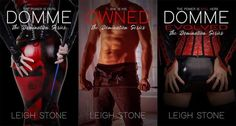 Attending AuthorFree again with Kindle Unlimited and with some hot new covers!  Domme #1:  myBook.to/domme Owned #2:  myBook.to/owned-domination2 Domme Evolved #3:  myBook.to/DommeEvolved