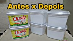 Diy Cleaning Products, Cleaning Hacks, Remover Tinta, 5 Min Crafts, E Craft, Coffee Cans, Decoupage, Recycling, Household