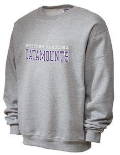 bb8a881e4 Western Carolina University Catamounts JERZEES Unisex 50/50 NuBlend® 8 oz.  Crewneck Sweatshirt
