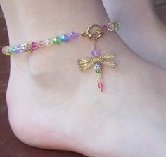 how to make beaded anklets - Google Search