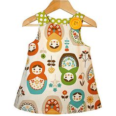 Babushka 'Jessie' Pinafore Dress