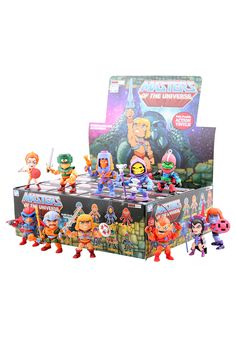 The Loyal Subjects Masters of The Universe Wave 1 11 Piece 3 Inch Action Vinyls Blind Pack