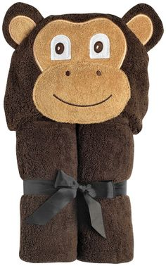 #Baby #Tubs #Bathing #Accessories #Yikes_Twins #shopping #sofiprice Yikes Twins Infant Hooded Towel- Monkey - 1 ct. - https://sofiprice.com/product/yikes-twins-infant-hooded-towel-monkey-1-ct-153873554.html
