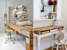 10 pomysłów na meble z palet! | Bajkowe Wnętrza
