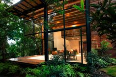 Envisioned by Alejandro Sanchez Garcia Arquitectos and materialized in 2009, the Chipicas Town Houses project has been built within the confines of a private garden in Valle de Bravo, México. The ensemble consists of a series of four three-story houses wearing a lattice skin that enhances privacy. The […]